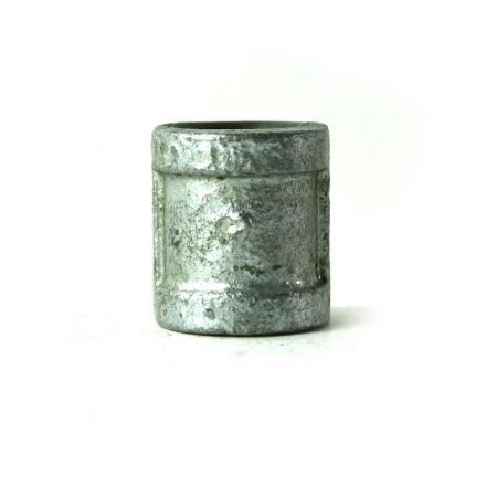 Thrifco Plumbing 5218019 3/8 Inch Galvanized Steel Coupling