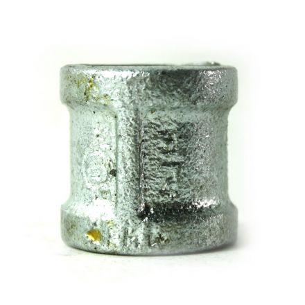 Thrifco Plumbing 5218021 3/4 Inch Galvanized Steel Coupling