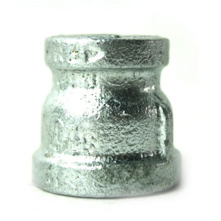Thrifco Plumbing 5218032 3/4 Inch x 1/2 Inch Galvanized Steel Reducer Coupling