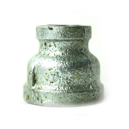 Thrifco Plumbing 5218037 1 Inch x 1/2 Inch Galvanized Steel Reducer Coupling