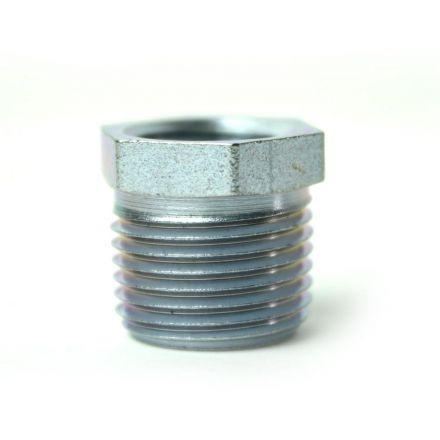 Thrifco Plumbing 5218057 3/8 Inch x 1/4 Inch Galvanized Steel Hex Bushing