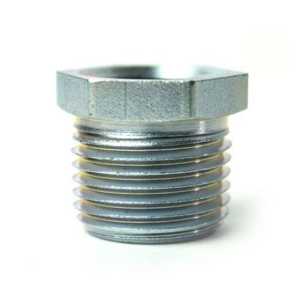 Thrifco Plumbing 5218058 1/2 Inch x 3/8 Inch Galvanized Steel Hex Bushing