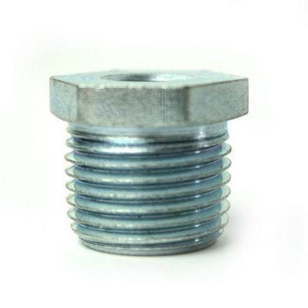Thrifco Plumbing 5218060 1/2 Inch x 1/8 Inch Galvanized Steel Hex Bushing