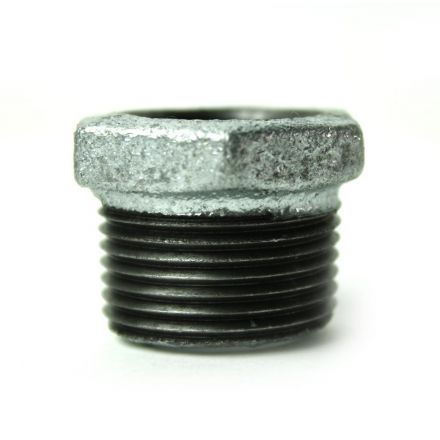 Thrifco Plumbing 5218061 3/4 Inch x 1/2 Inch Galvanized Steel Hex Bushing