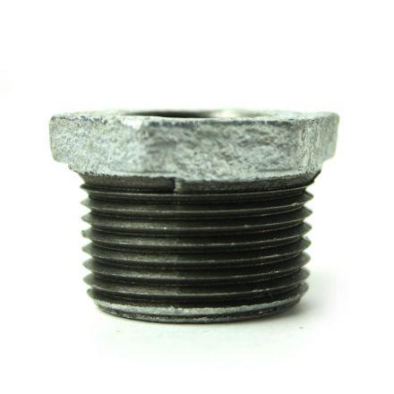 Thrifco Plumbing 5218066 1 Inch x 1/2 Inch Galvanized Steel Hex Bushing