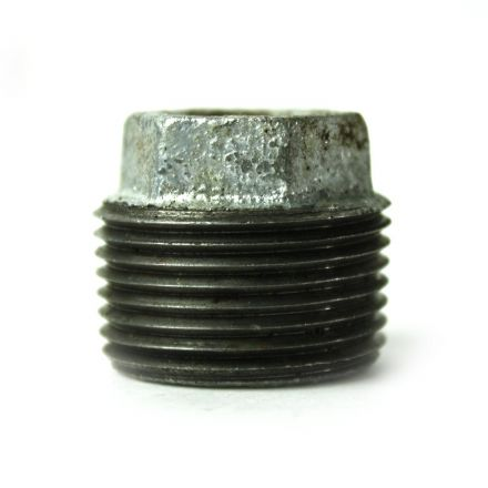 Thrifco Plumbing 5218067 1 Inch x 3/8 Inch Galvanized Steel Hex Bushing