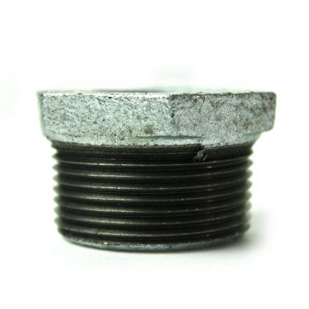 Thrifco Plumbing 5218069 1-1/4 Inch x 3/4 Inch Galvanized Steel Hex Bushing