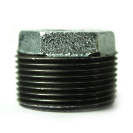 Thrifco Plumbing 5218070 1-1/4 Inch x 1/2 Inch Galvanized Steel Hex Bushing