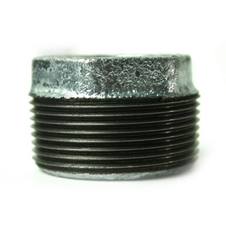 Thrifco Plumbing 5218073 1-1/2 Inch x 3/4 Inch Galvanized Steel Hex Bushing