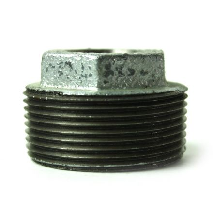 Thrifco Plumbing 5218074 1-1/2 Inch x 1/2 Inch Galvanized Steel Hex Bushing