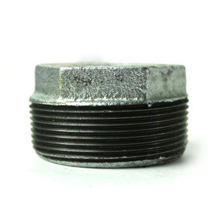 Thrifco Plumbing 5218077 2 Inch x 1 Inch Galvanized Steel Hex Bushing