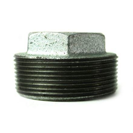 Thrifco Plumbing 5218078 2 Inch x 3/4 Inch Galvanized Steel Hex Bushing
