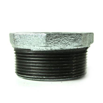 Thrifco Plumbing 5218079 2 Inch x 1/2 Inch Galvanized Steel Hex Bushing