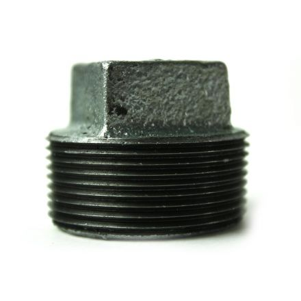 Thrifco Plumbing 5218097 2 Inch Galvanized Steel Plug