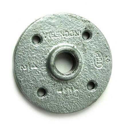Thrifco Plumbing 5219023 1/2 Inch Galvanized Steel Floor Flange