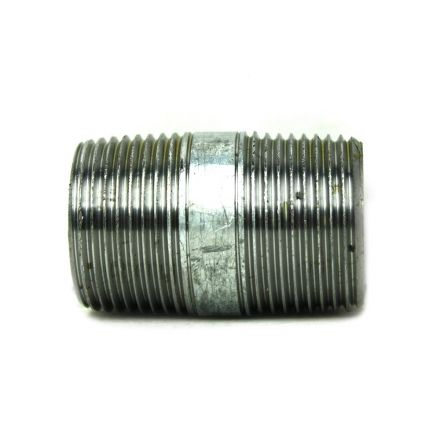 Thrifco Plumbing 5220050 1 Inch x 2-1/2 Inch Galvanized Steel Nipple