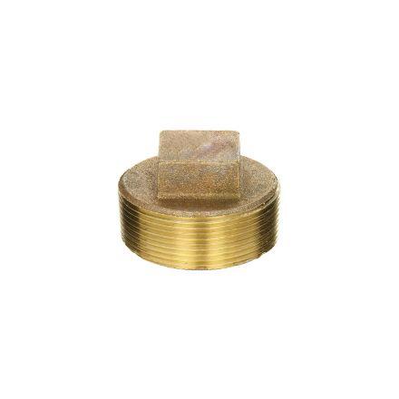 Thrifco Plumbing 5318094 1 Inch Brass Plug