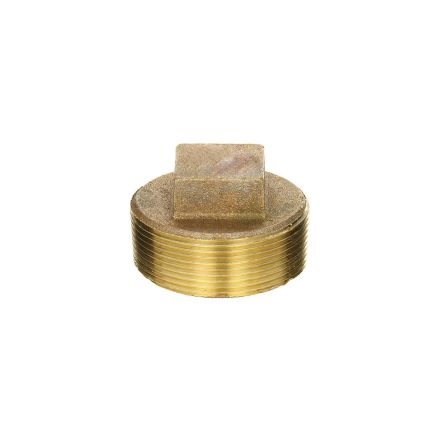 Thrifco Plumbing 5318096 1-1/2 Brass Plug