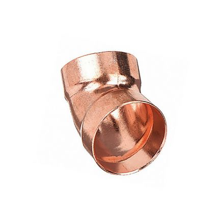 Thrifco Plumbing 5436028 1 1/2 45 Copper Ell.