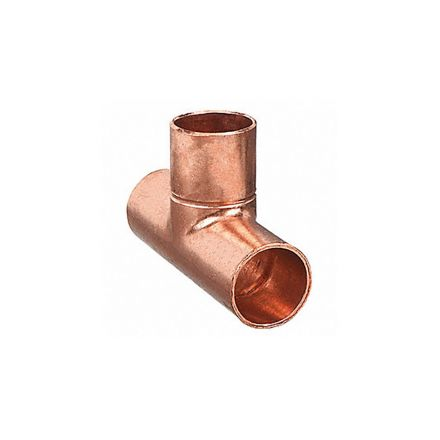Thrifco Plumbing 5436051 1/4 Copper Tee