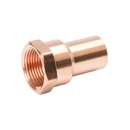 Thrifco Plumbing 5436125 1 1/2 Copper Female Adapter