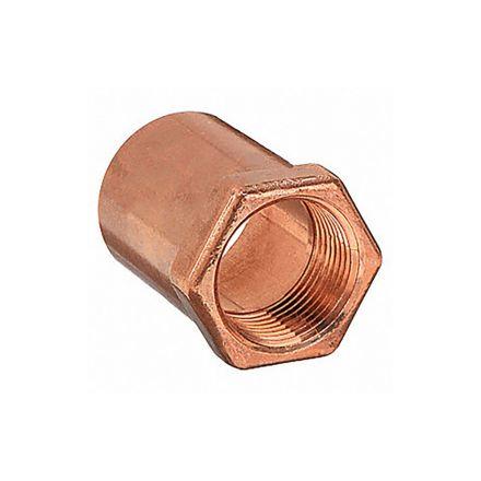 Thrifco Plumbing 5436128 3/4 Cop X 1/2ip Female Adapter