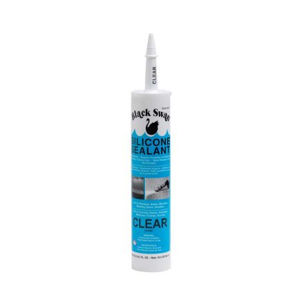 Thrifco Plumbing 6313018 3 Oz Silicone Sealant-Clear