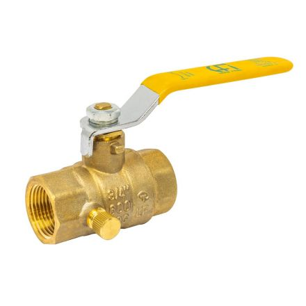 Thrifco Plumbing 6414024 1 Inch Ip Ball Valve W/ S&W