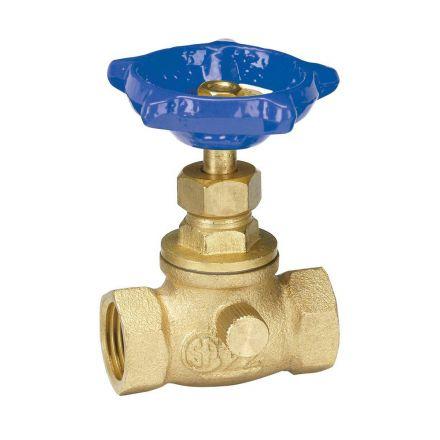 Thrifco Plumbing 6415050 1/2 Ip Stop & Waste