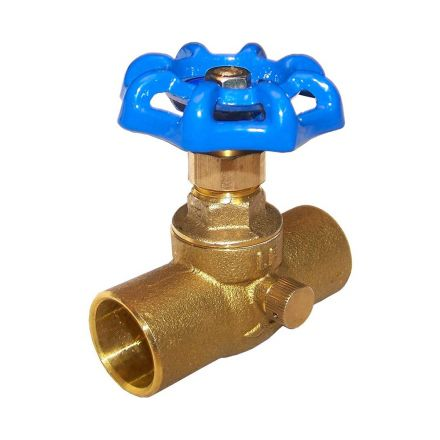 Thrifco Plumbing 6415053 3/4 C X C Stop & Waste