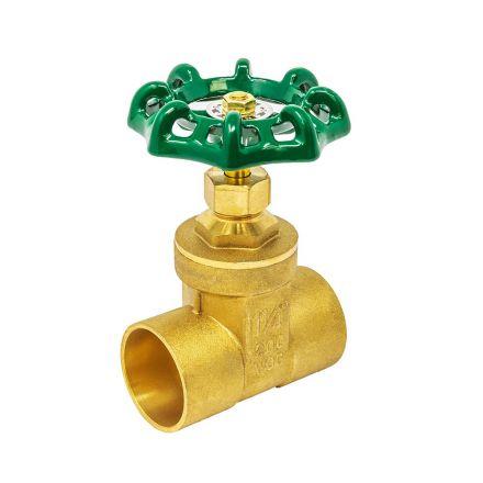 Thrifco Plumbing 6415060 1/2 C X C Comp. Stop