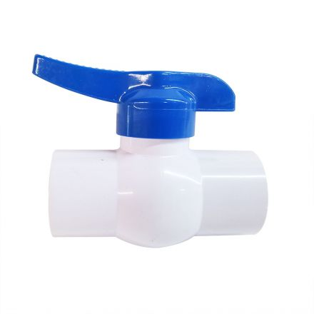 Thrifco Plumbing 6415224 1-1/2 Inch Threaded PVC Ball Valve