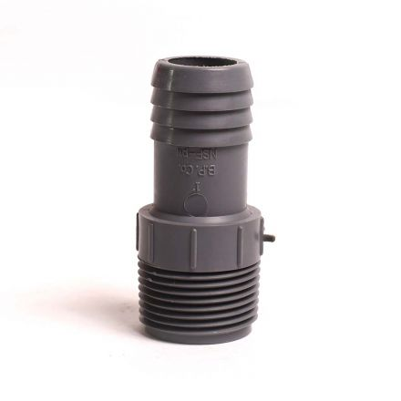 Thrifco Plumbing 6521003 1 Inch INSERT MALE ADAPTER