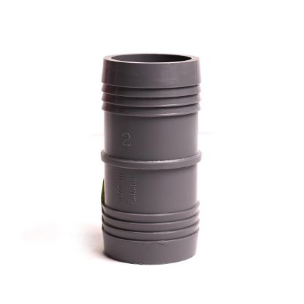 Thrifco Plumbing 6521035 2 Inch INSERT COUPLING