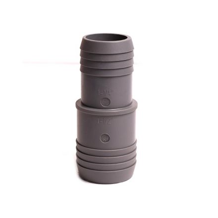 Thrifco Plumbing 6521042 1-1/2 X 1-1/4 INS RED COUPLING