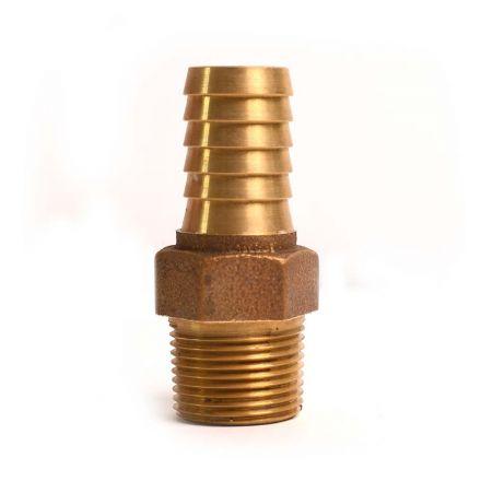 Thrifco Plumbing 6522101 1/2 BRASS INSERT MALE ADAPTER