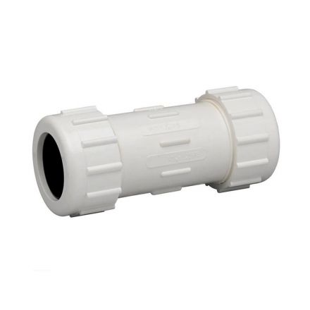 Thrifco Plumbing 6622174 1 1/2 PVC Comp. Coupling