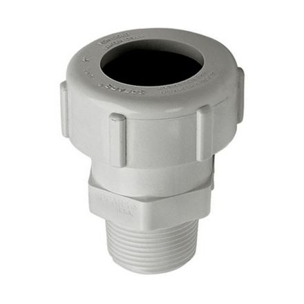 Thrifco Plumbing 6622186 2 Inch PVC Comp. M Adapter