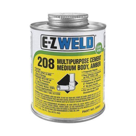 Thrifco Plumbing 6622205 8 Oz All Purpose Cement