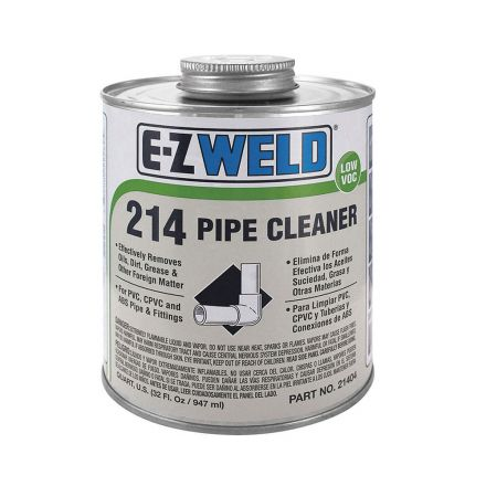 Thrifco Plumbing 6622211 8 Oz Pvc Clear Cleaner