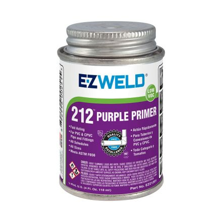 Thrifco Plumbing 6622213 4 Oz Purple Primer