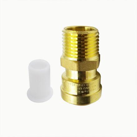 Thrifco Plumbing 6625043 Lf812m 1/2 X 1/2 Male