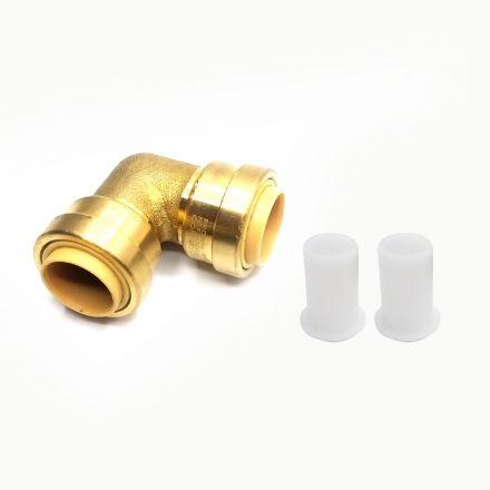 Thrifco Plumbing 6625053 Lf813 1/2 X 1/2 90 Elbow
