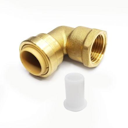 Thrifco Plumbing 6625064 Lf813m 1/2 X 1/2 Mip 90 Elbow