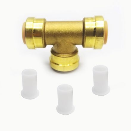 Thrifco Plumbing 6625073 Lf814 1/2 X 1/2 X 1/2 Tee