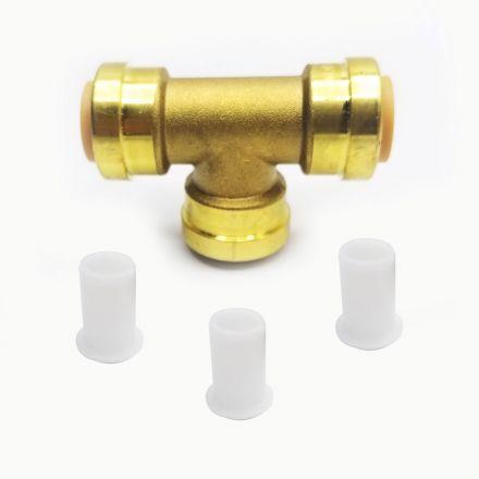 Thrifco Plumbing 6625078 Lf844 3/4 X 3/4 X 1/2 Tee