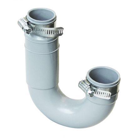 Thrifco Plumbing 6722601 1 1/2 X 1 1/4 FLEXIBLE J BEND