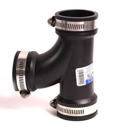 Thrifco Plumbing 6722620 1-1/2 Inch Flexible Tee