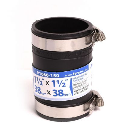 Thrifco Plumbing 6722646 1-1/2 Socket x Socket