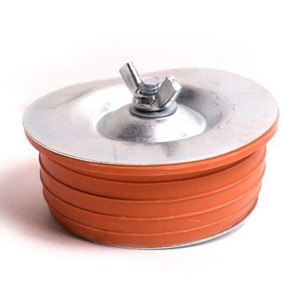 Thrifco Plumbing 6722741 4 Inch Wingnut Test Plug